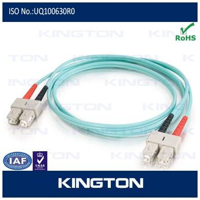 sc mm fiber optic patch cord