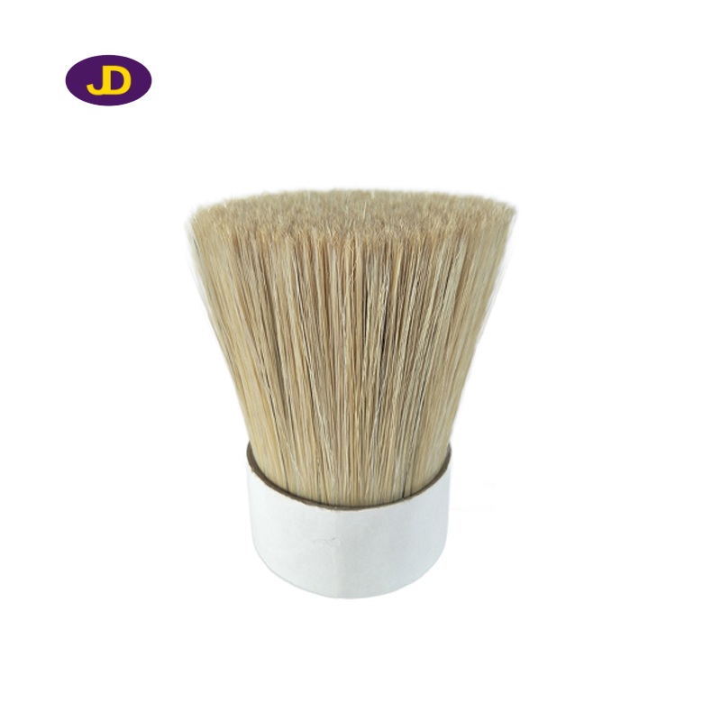 Imitation pig bristle color tapered filaments for paint brush