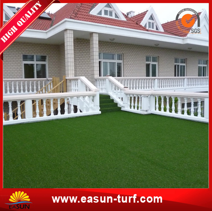 Anti UV Fake Synthetic Garden artificial turf grass prices-AL