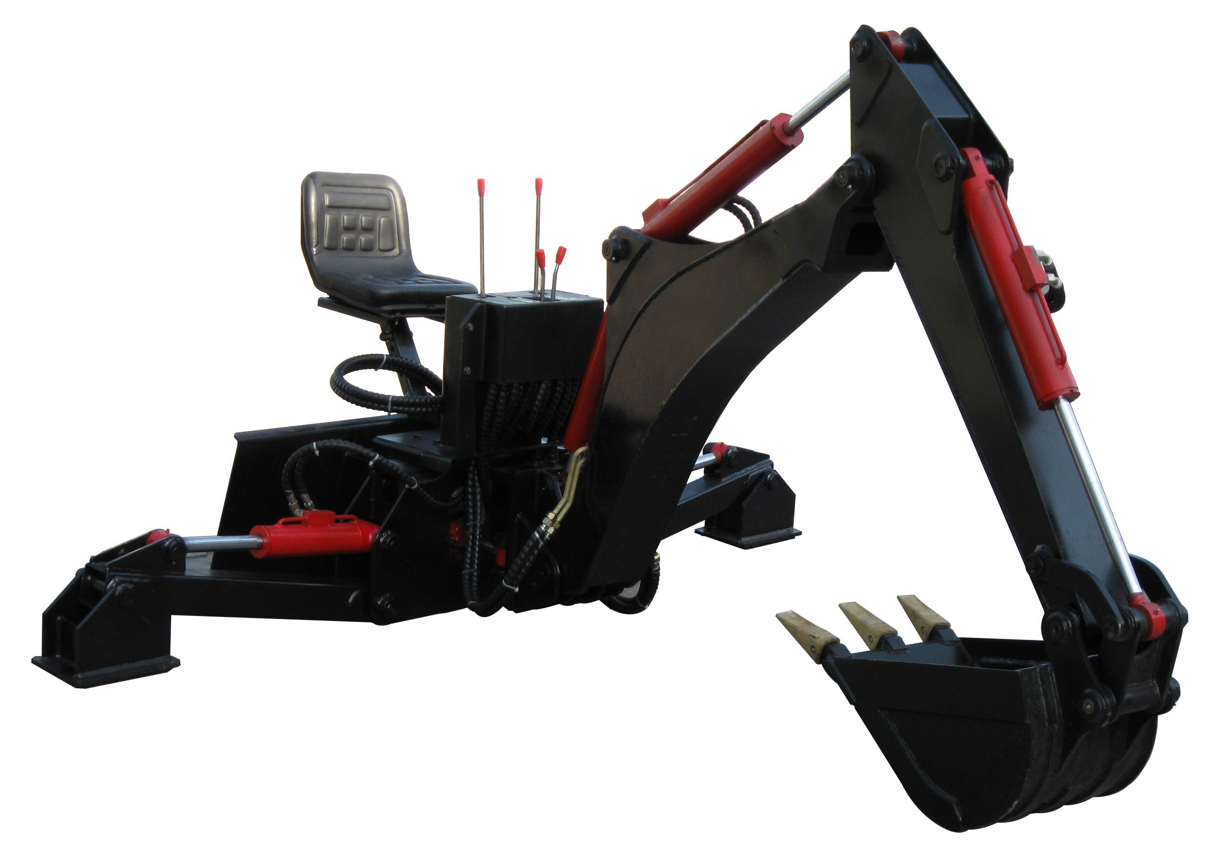 HCN brand 0301 series hydraulic backhoe attachment for loaders