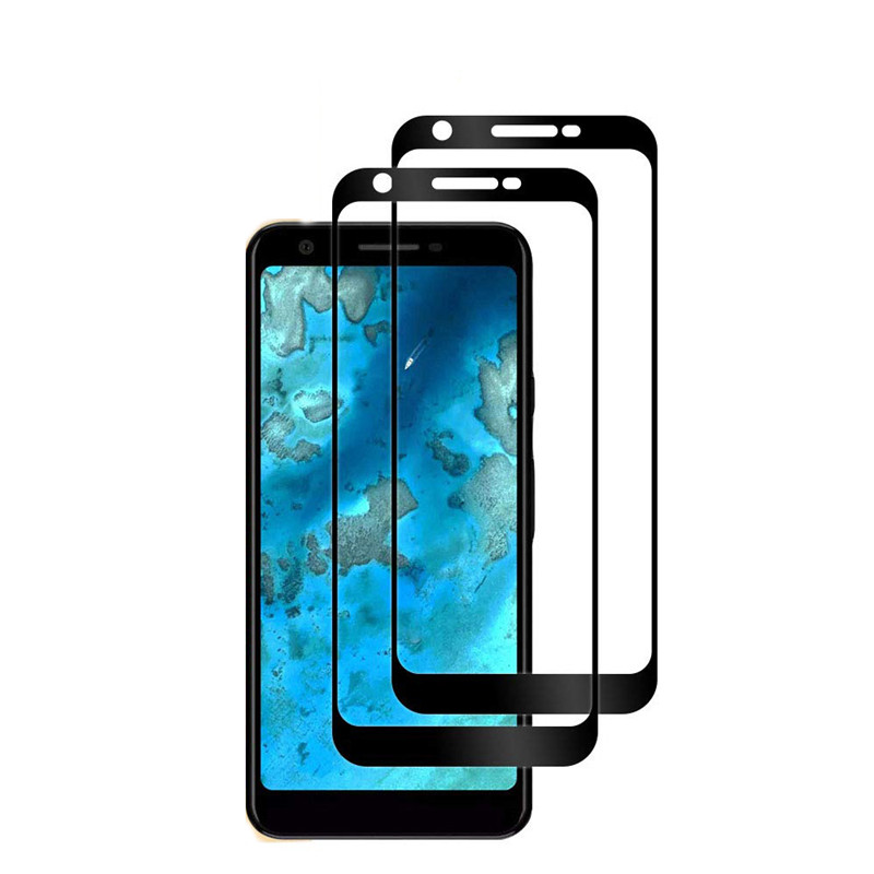 2.5D full cover full glue tempered glass screen protector for Pixel 3A/3A XL