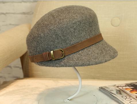 100% wool felt Ivy hat ladies felt hat