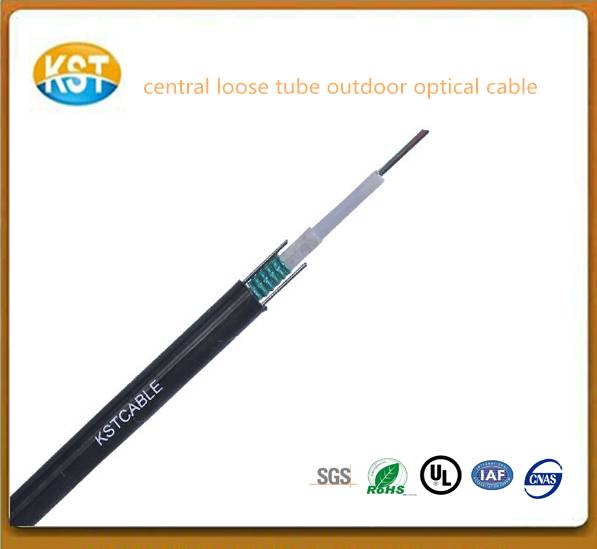 central loose tube outdoor cable/cheap optical cabel soft flexible fiber cable