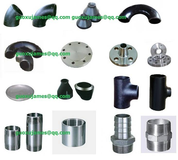 Pipe Fitting: Flange Elbow Tee Reducer Coupling