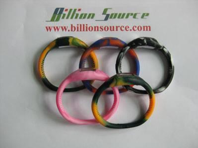 Tie dye silicone sport watch