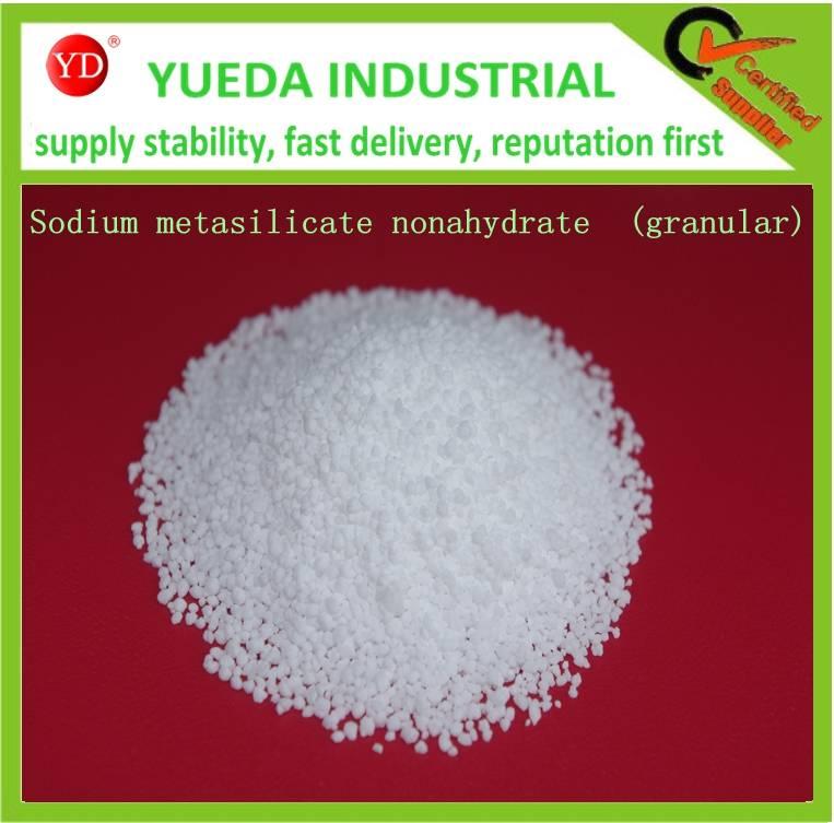 Sodium metasilicate nonahydrate  (granular)