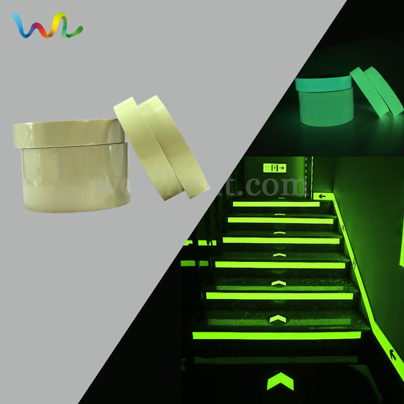 Safety Tape For Steps, Marking Tape, Glow In The Dark Tape