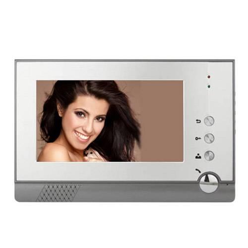 "7"" LCD Screen Indoor Electronic Lock Control Monitor, Video Doorbell and Video Doorphone Kits (M1207"