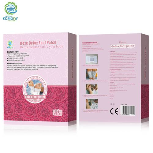 High Quality Rose Detox foot Patch