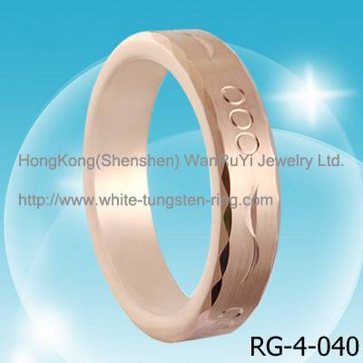 Fiished Tungsten Jewelry Ring