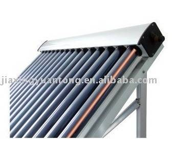 Pressure manifold solar water heater