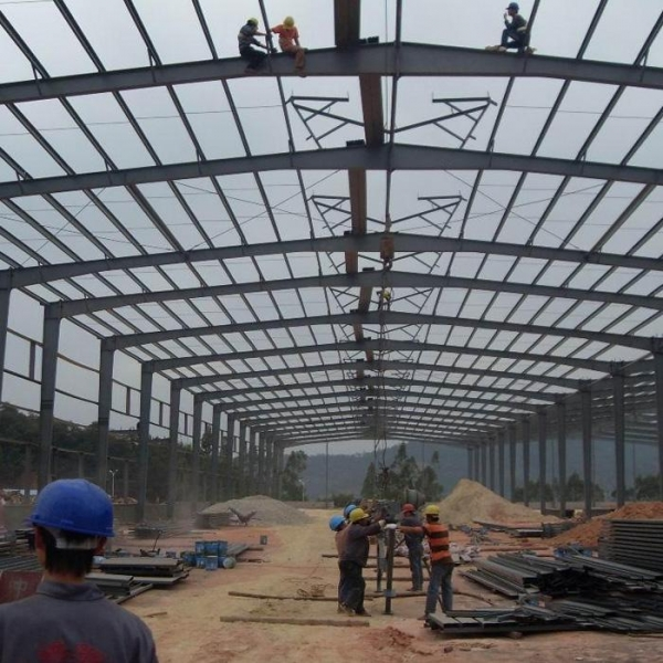 prefab steel structure warehouse-nanyang xinxing steel structure