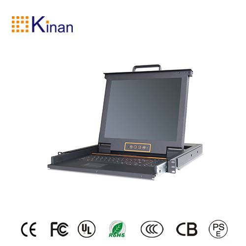 Rack mount 17 inch lcd console switch