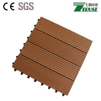 Long-lasting DIY tiles WPC outdoor decking