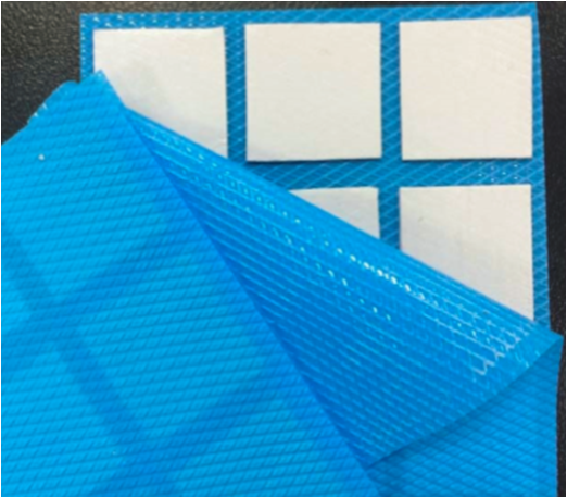 Thermally and electrically conductive silicone pad