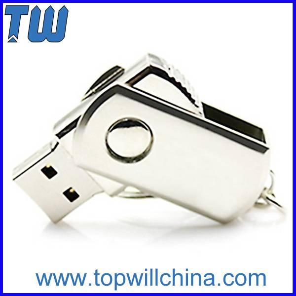 Metal Tiny Twister Usb Thumb Drive 2GB 4GB Free Logo Printing