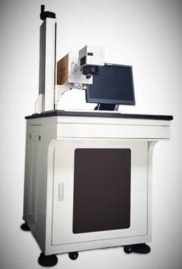 RF Cabinet Fiber Marking Machine