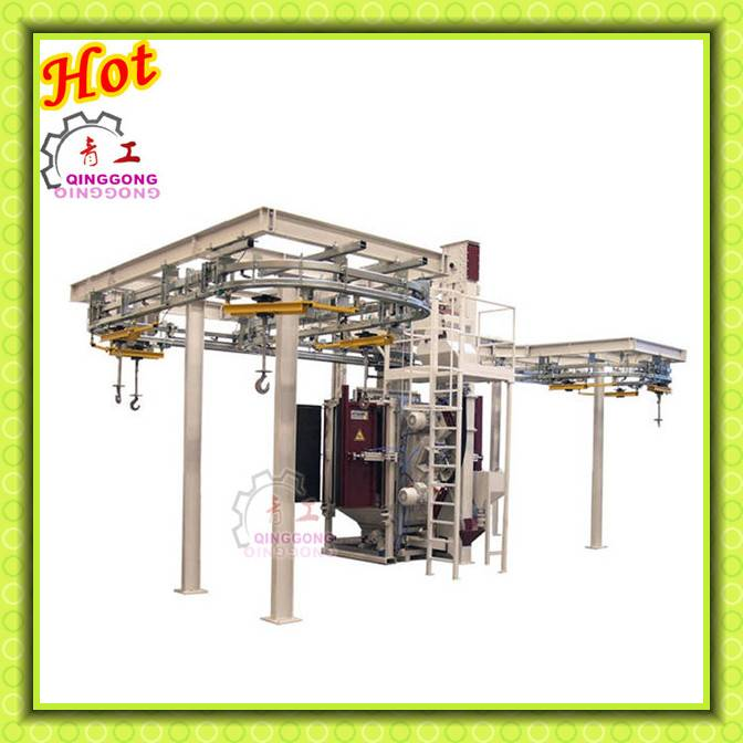 High Quality Structural Overhead Rail Hanger Type Shot Blasting Machine/Abrator