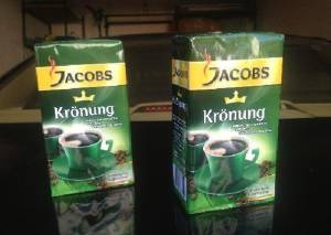 Jacobs Kronung Ground Coffee 500g / 200g