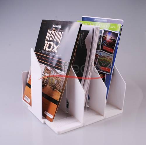 Deflect-o Acrylic File Rack,249x240x274(mm)
