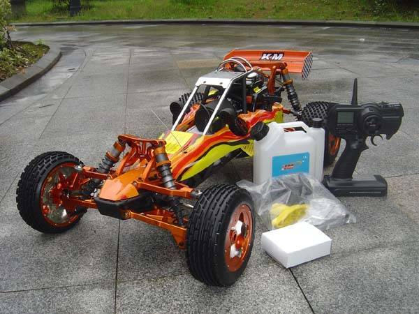 Latest Updated Full Alloy Metal Baja 5b 30.5cc Buggy