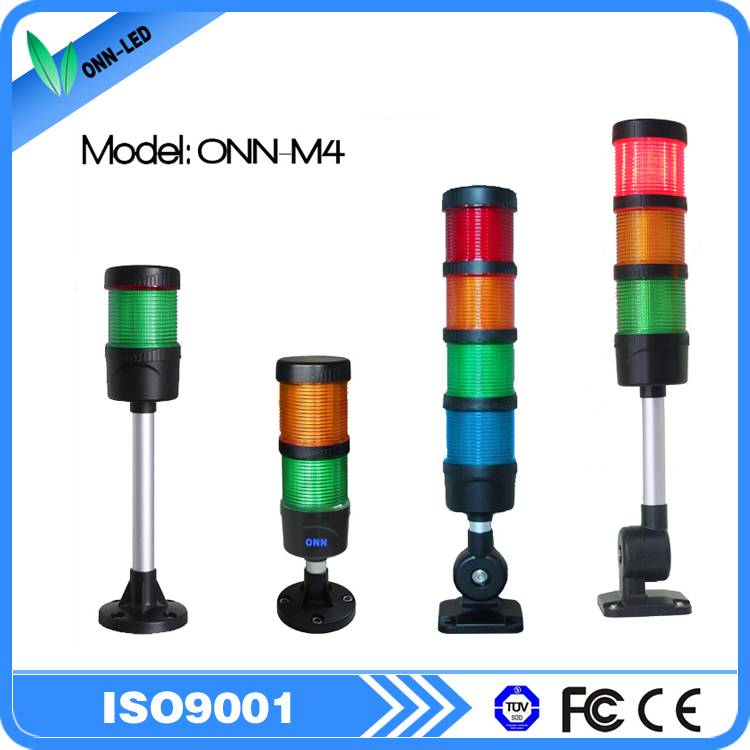 CE FCC m4 led machine tower light with buzzer and flash facotry price