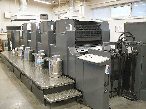 used sheetfed offset printing machines