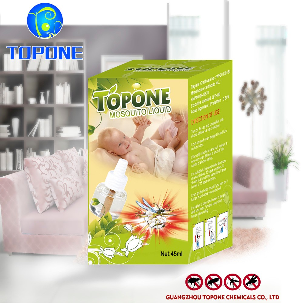 TOPONE Electric mosquito repellent liquid Non-toxic harmless, easy to use