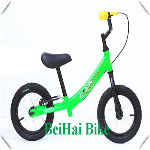 "2017 hot selling outdoor kid exercise cycle / 12"" lower price baby running bike / bicycle balance"