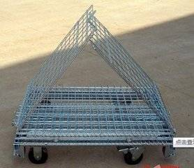 WITH WHEEL metal stock storage box warehouse cage  (FOR MARKET OR WAREHOUSE) manufacturer direct sal
