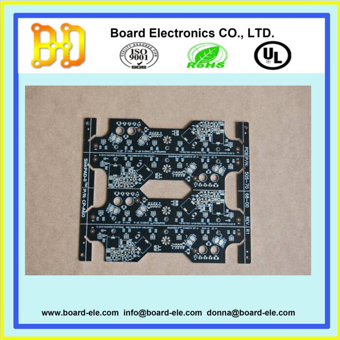 single layer led pcb with aluminum base