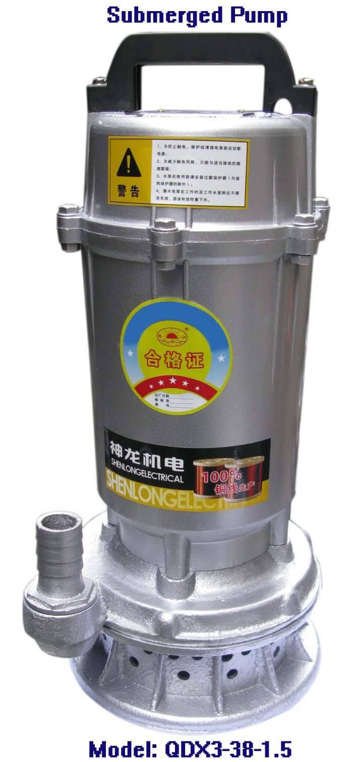 Electric Submersible Pump-QDX3-38-1.5