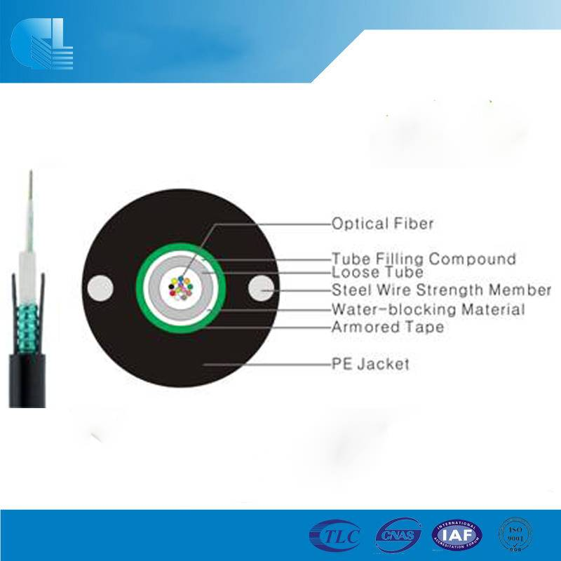 Uni-tube Light-armored Cable (GYXTW)