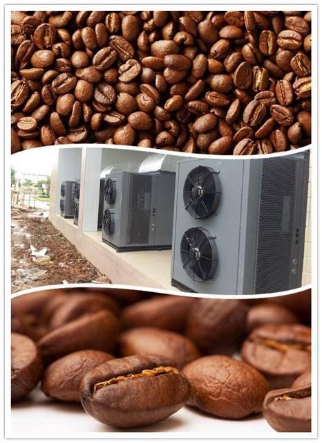 coffee bean dryer, basic on heat pump drying technology,air source heat pump, factory price, energy