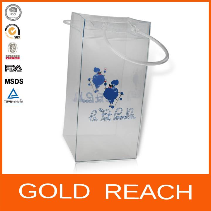 PVC Wine Ice Bag/PVC Wine Packing Bag