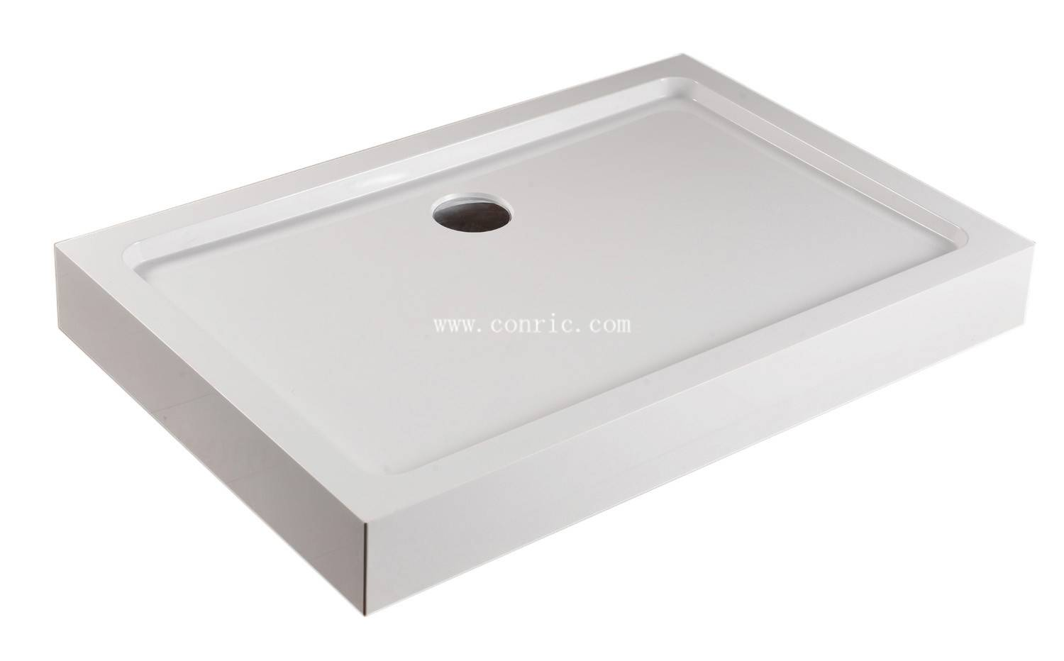Modern family bathroom SMC shower tray
