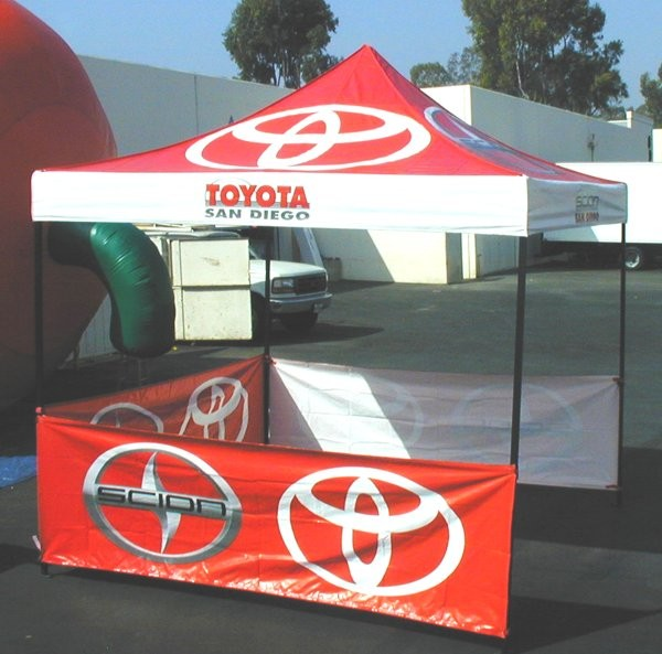 Feng Yushun sun shade tent manufacturer custom printing booth retractable canopy tent 118in236in