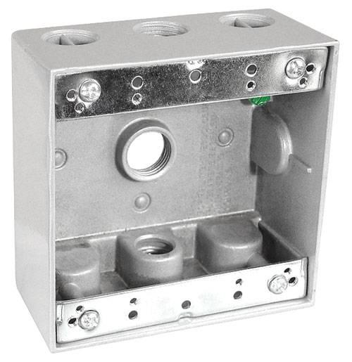 Aluminum Die Cast weatherproof square box