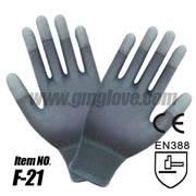 13-Gauge Nylon Knit PU Garden Glove