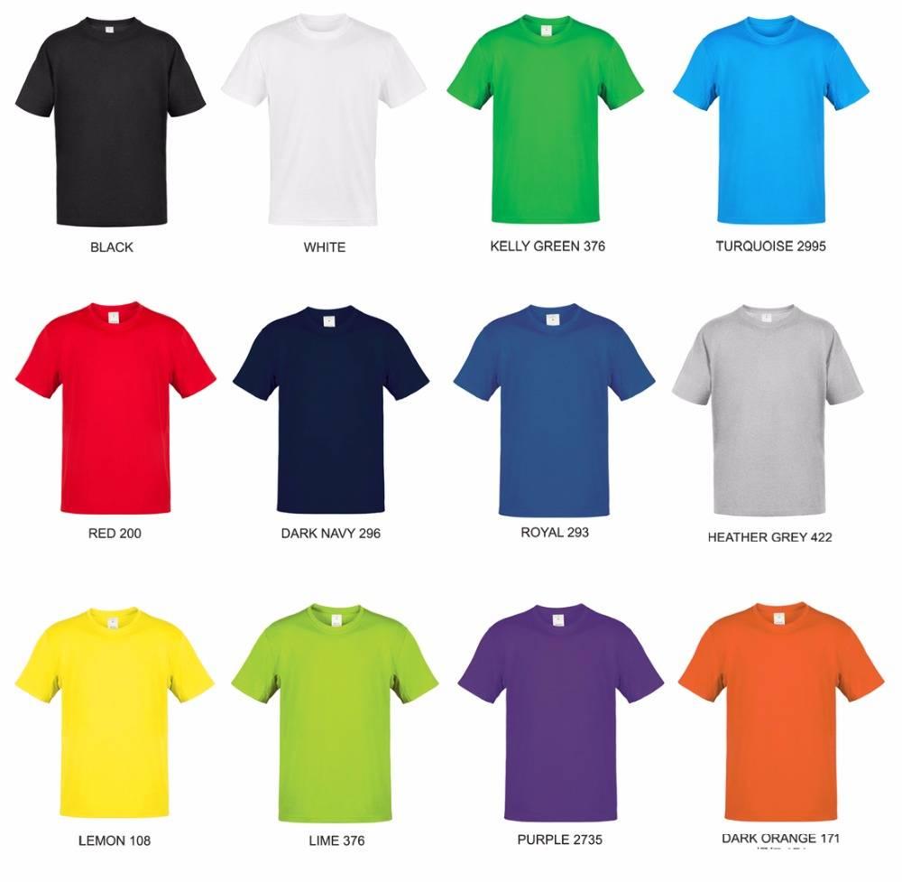 classic Plain T shirt promotional T shirt wholesale
