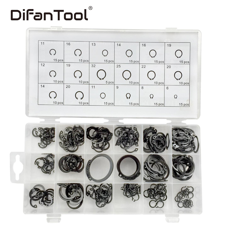 Difanmax 225pc Internal Snap Ring Assortment Plier