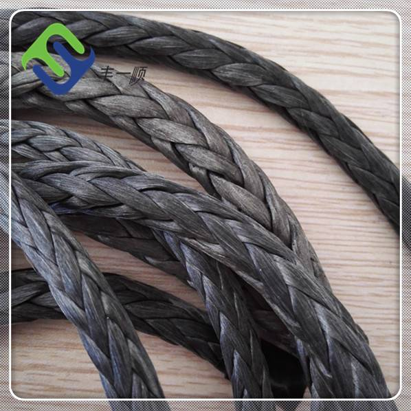 High strength 12 strand uhmwpe rope for sale