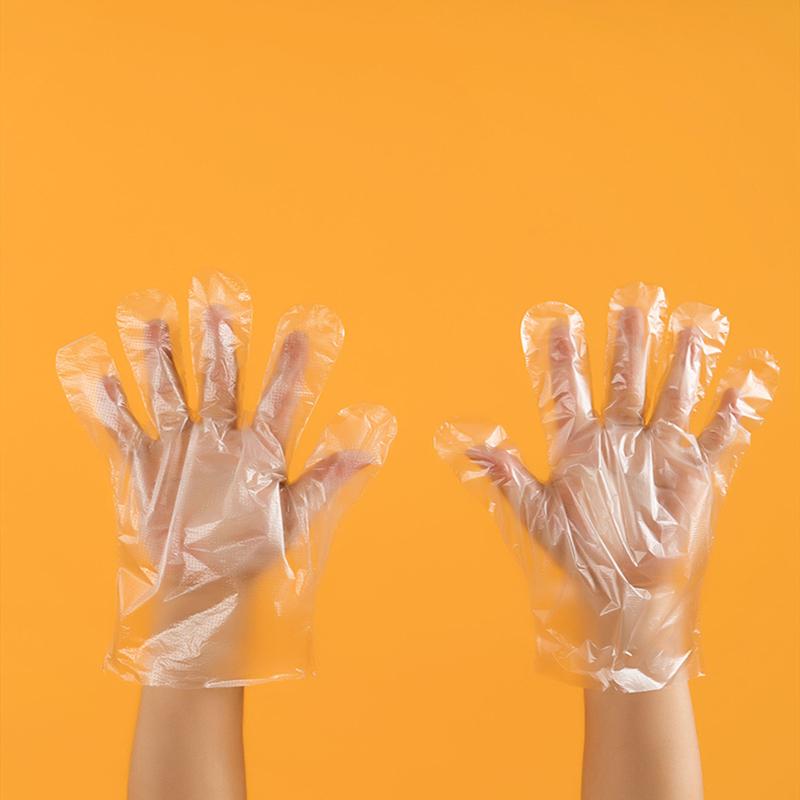 Hot sale disposable plastic gloves