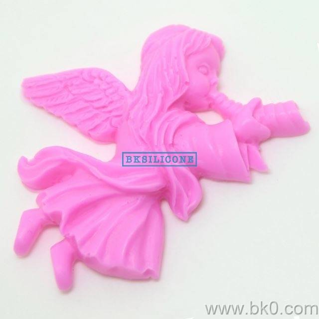 Hot Angel Girl Fondant Silicone Molds DIY Mould For Cake Chocolate Handmade AA025