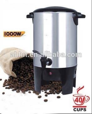 20 30 40 50 cups coffee/beer brewer,big volume cafetera percoladora
