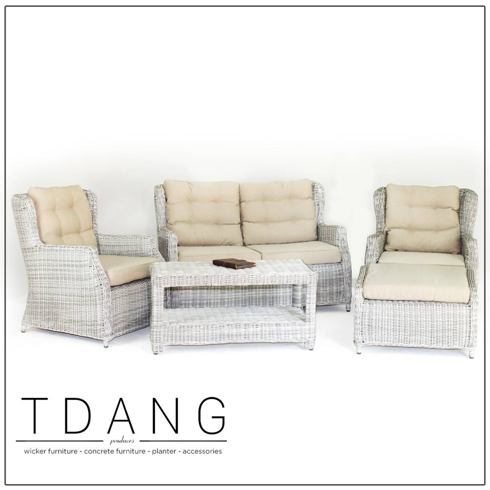 Driago 5 Pieces Deep Seating Group with Cushions (Code TD1003)