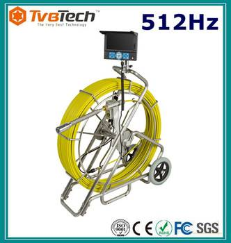 pipe inspection equipment water leak detection with built-in 512Hz Sonde transmitting signal