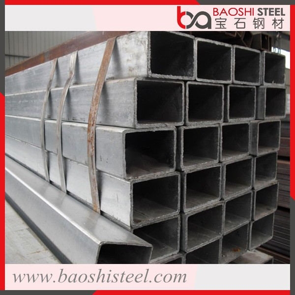 Rectangular Steel Pipe/Tubes/Hollow Section Galvanized