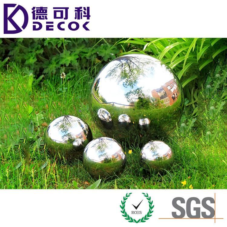 Stainless Steel Garden Gazing Ball