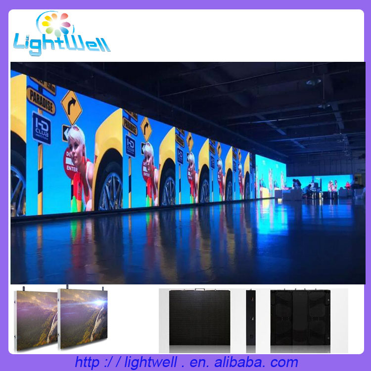 P3 Pixels and Video Display Function die-cast aluminum indoor led display screen